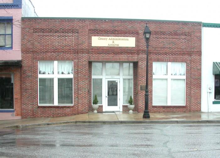 County Reorganizes Staff