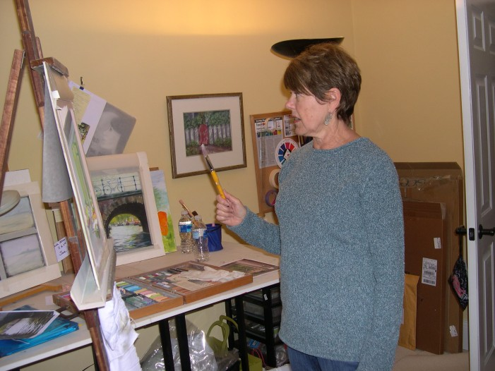 Business Woman, Retired — Now Artist
