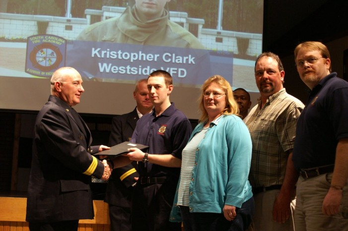 Westside Honors Two Graduates at Fire Academy