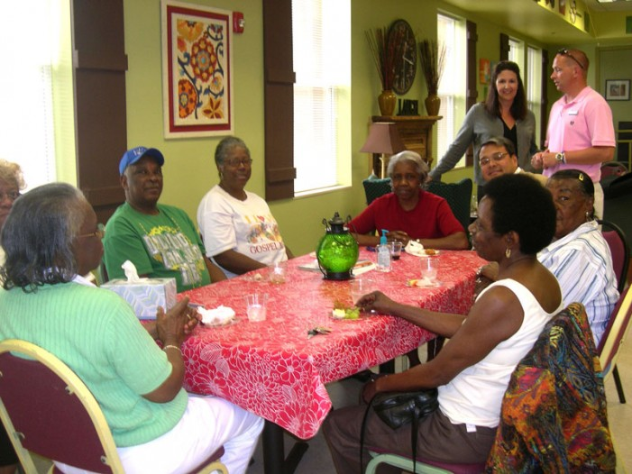 Hospitality Abounds at the Senior Center