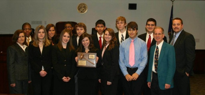 STHS Competing at State Mock Trial Competition