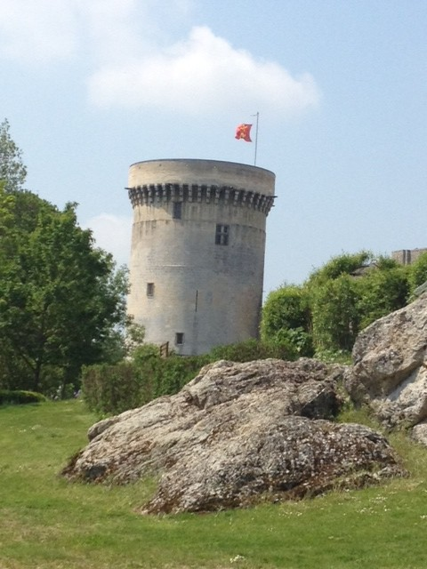 William the Conquerors castle in Falaise