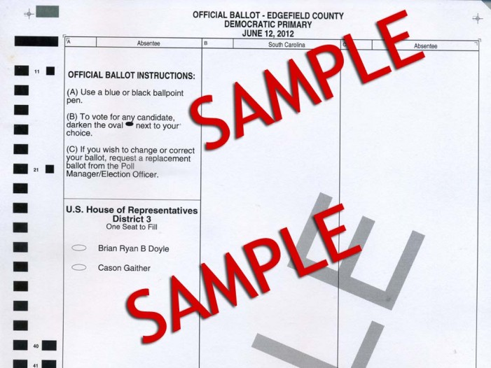 Primary Ballot Settled