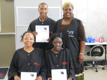 First STHS Licensed Cosmetologists