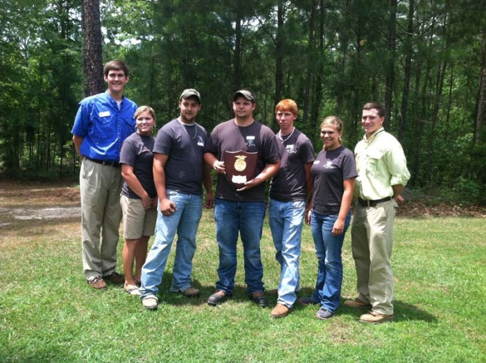 Thurmond FFA Forestry Team Competing at Nationals
