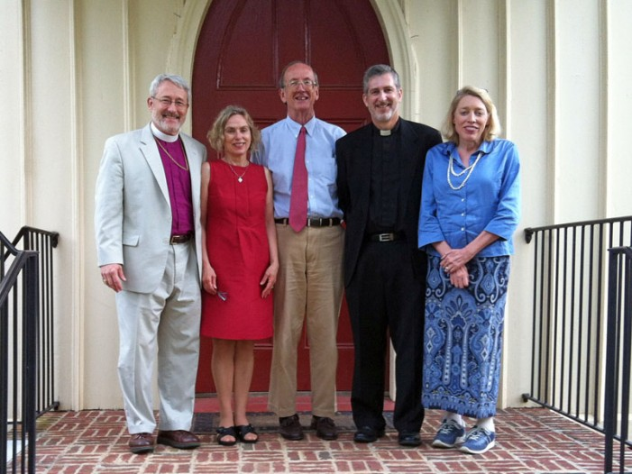 Bishop Visits Church of the Ridge