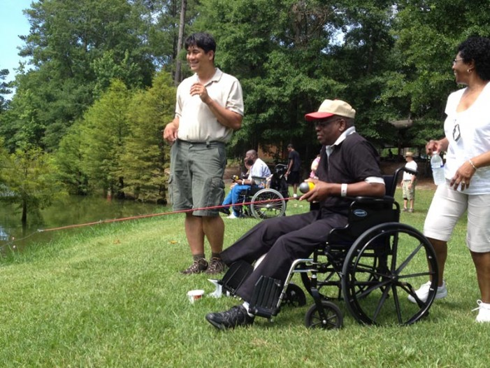 Wounded Warriors Visit Edgefield