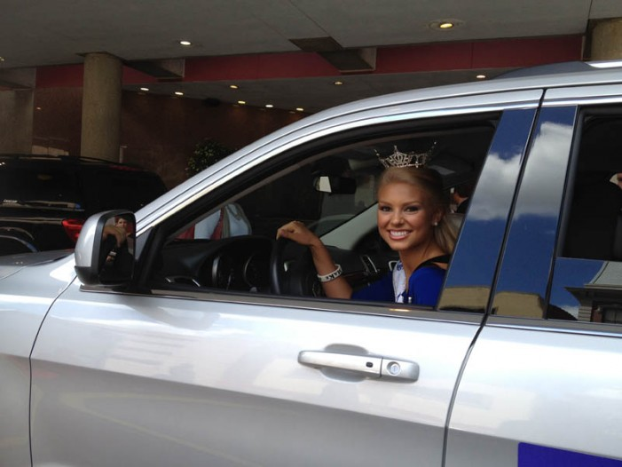 Miss South Carolina Takes to the Road