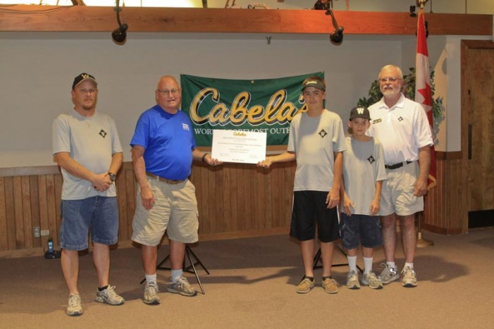 Wardlaw Shooting Team members receive $13,000 award through Cabela's, NWTF