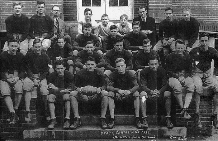 1933 Johnston High School Football