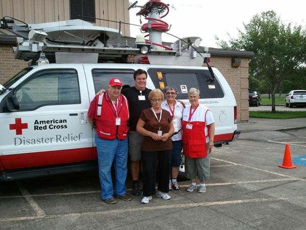 Local Red Cross Shelter Team Deploys to Louisiana
