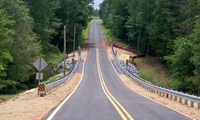 Red Oak Grove Bridge Open Again