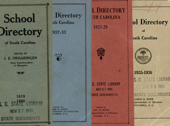 SC School Directories Now Digitized