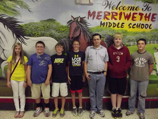 Merriwether Middle 2012 PASS Scholars