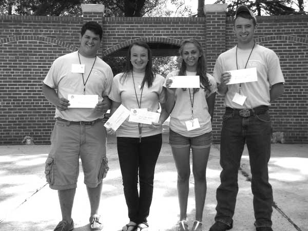 S.C. Association of Conservation District Scholarship Winners