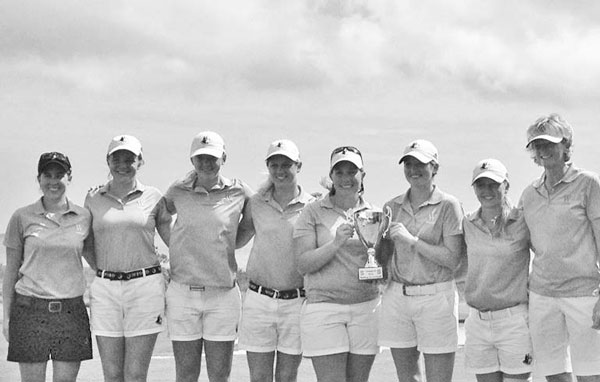 Wofford Women's Golf Wins Bulldog Tournament