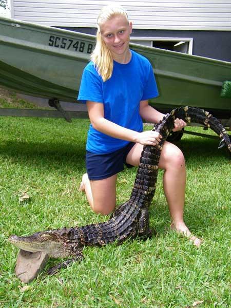 Her First Alligator