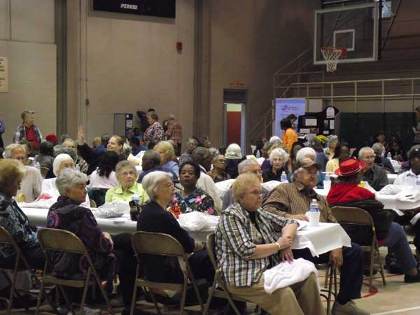 Seniors Enjoy a Festival Event