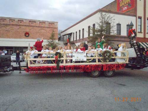 Singing, Snow and Santa Will be Filling the Air!
