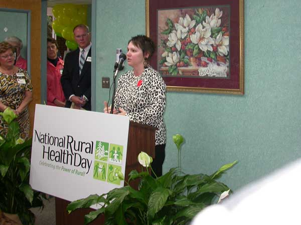 National Rural Health Day Celebrated At ECH