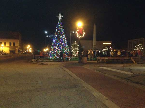 Edgefield Christmas Tree Lighting