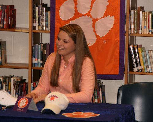 Talbert Signs to Play for Clemson