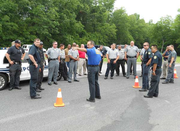 Area Law Enforcement Trained in Public Safety Checkpoints