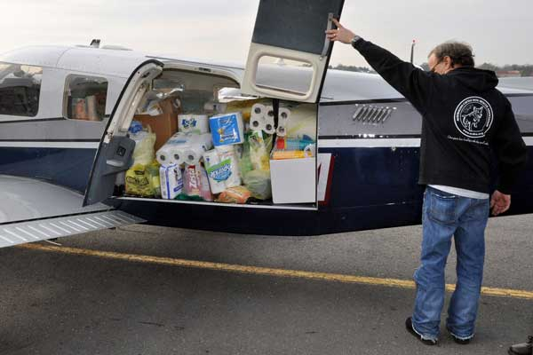 Ridge Spring Donations go North to Sandy Victims