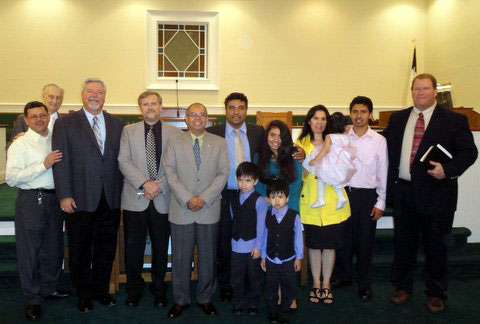 Hispanic Baptist Church of Edgefield County Commissioning Service