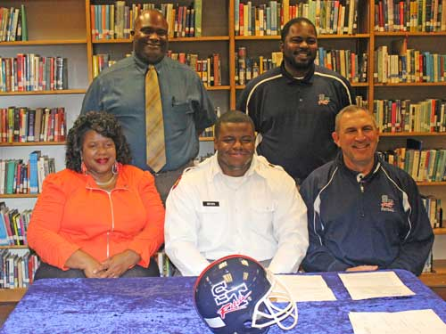 Former Thurmond Player Signs with Youngstown State