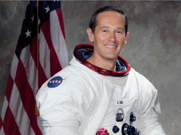 Clemson Awards 1,200 degrees; Honors Astronaut Charles Duke Jr.