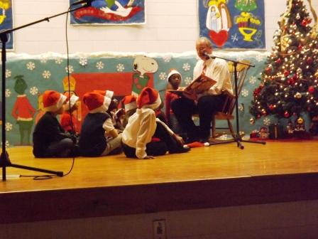 Douglas Elementary Celebrates Christmas Polar Express Style