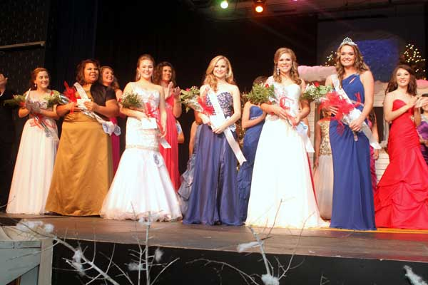 Megan Sherman Crowned at the 2013 Miss Statesman Pageant