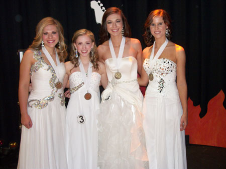 Distinguished Young Women of Edgefield County
