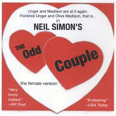 Final Weekend for The Odd Couple