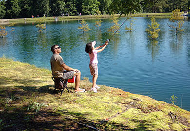 DNR Hosts Series of Youth Fishing Rodeos Around the State