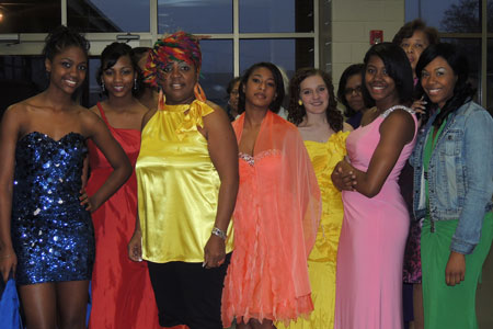 STHS Cosmetology Department Hold 1st Annual Show