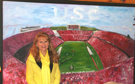 Beth Robertson Clark Exhibits at Hire Grounds