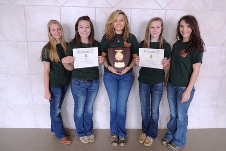 Thurmond FFA Floriculture Team Wins State Competition