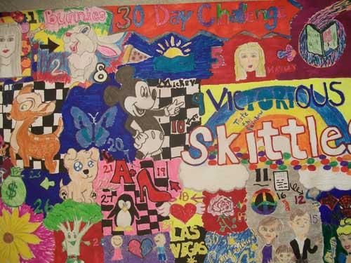 School Art Show at Purple Fence