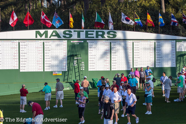 Masters Practice Round Photo Gallery