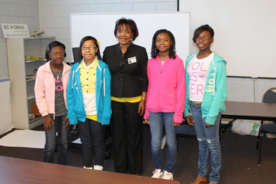 Emerging Young Leaders Hear Councilwoman Boles