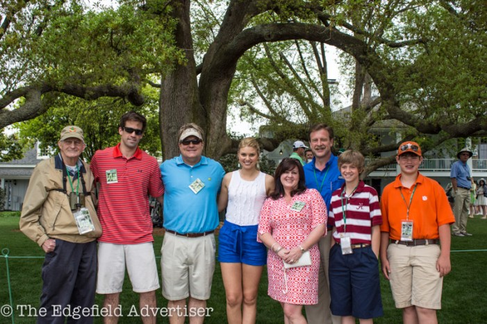 Miss South Carolina at The Masters