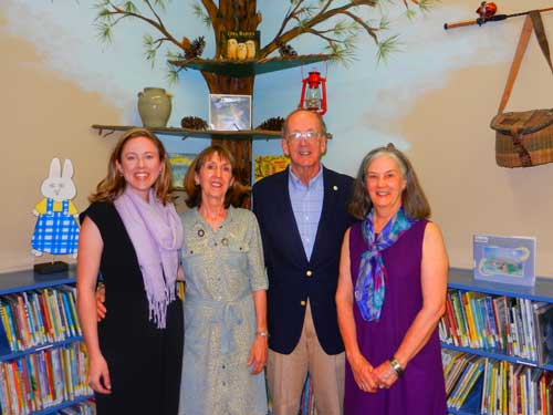 Library Holds Ribbon Cutting for Dot Mims Memorial Children's Area