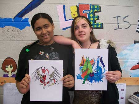 Thurmond Students Win Logo Contest