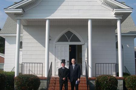 Rural Church Burglarized and Vandalized