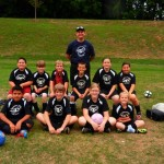 The Rowdies - coached by Joel Pederson and Ronnie Carter - 9-12 Division.