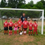 The Kickers - coached by David Caddell - 6-8 Division.  This team tied for Season Winners.
