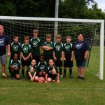 The Strikers - coached by Raymond and Jeanette Ouzts - 9-12 Division.  Season Winners and Tournament Champions.