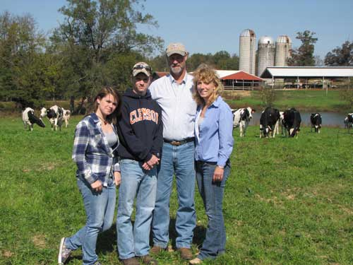 Edgefield County's Third Generation Dairy Farmer